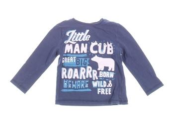 Dětské tričko s potiskem F&F modré