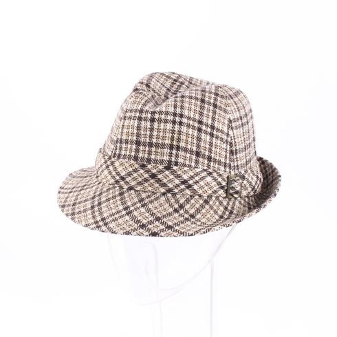 Pánský klobouk kostkovaný - bazar  8f2c5db671