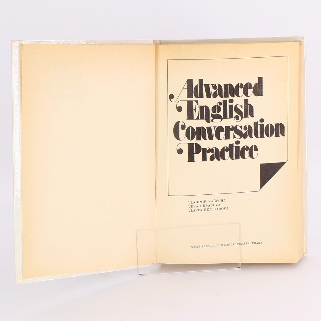 Učebnice Advanced English Conversation Practice