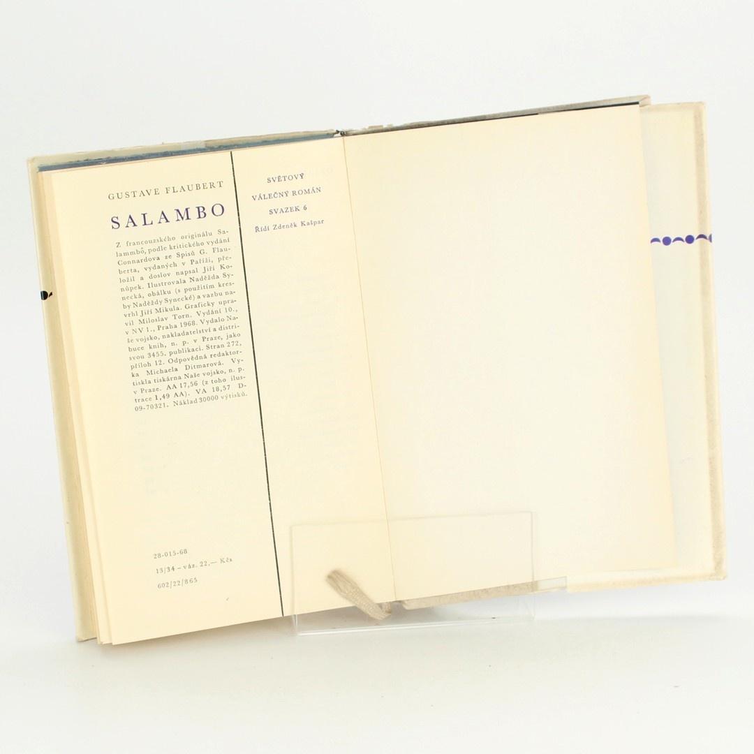 Gustave Flaubert Válečný romám Salambo