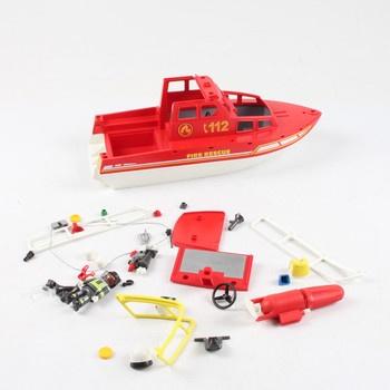 Člun Playmobil 70147 Fire Rescue