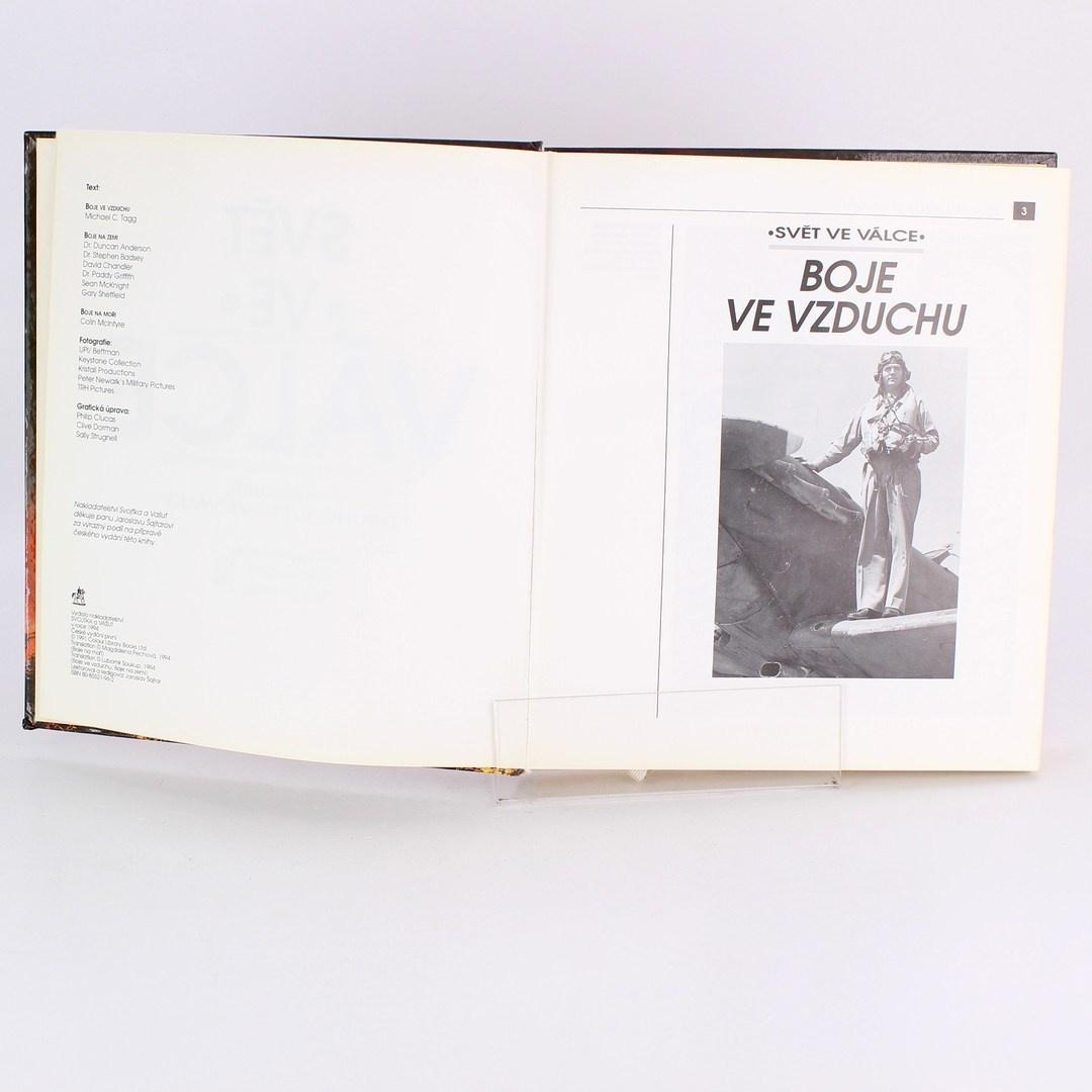 Kniha Svět ve válce Boje ve vzduchu