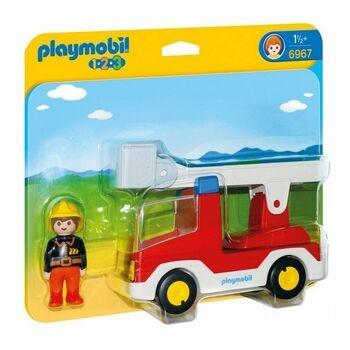 Stavebnice Playmobil 6967 hasičské auto