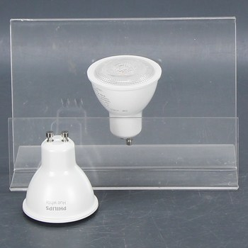 LED žárovky Philips GU10 White 5,5W 2 ks