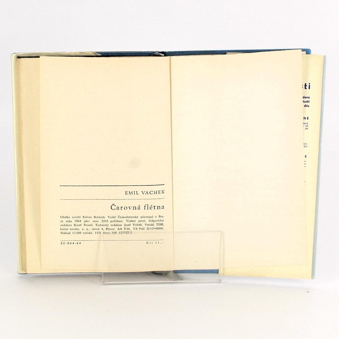 Kniha Emil Vachek: Čarovná flétna