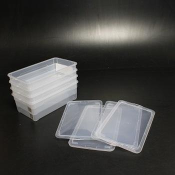 Plastové boxy Sundis průhledné
