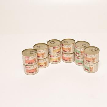Konzervy pro kočky Animonda sada 12 x 200 g