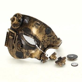 Karnevalová Steampunková maska