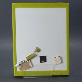 Magnetická tabule značky Rexel