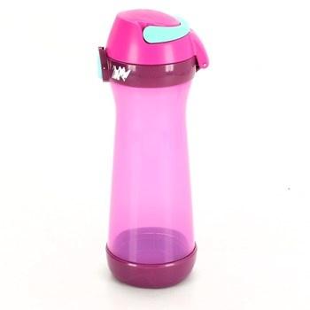 Dětská lahev Maped Picnik fialová / růžová