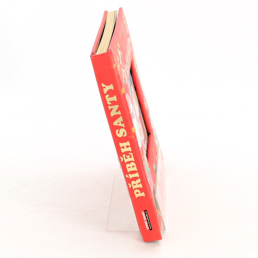 Dětská knížka Příběh Santy