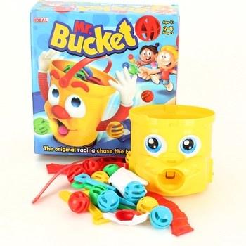 Plastové míčky Ideal Mr. Bucket