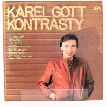 Gramofonová deska Kontrasty Karel Gott