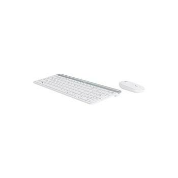 Set klávesnice a myši Logitech MK470 bílá