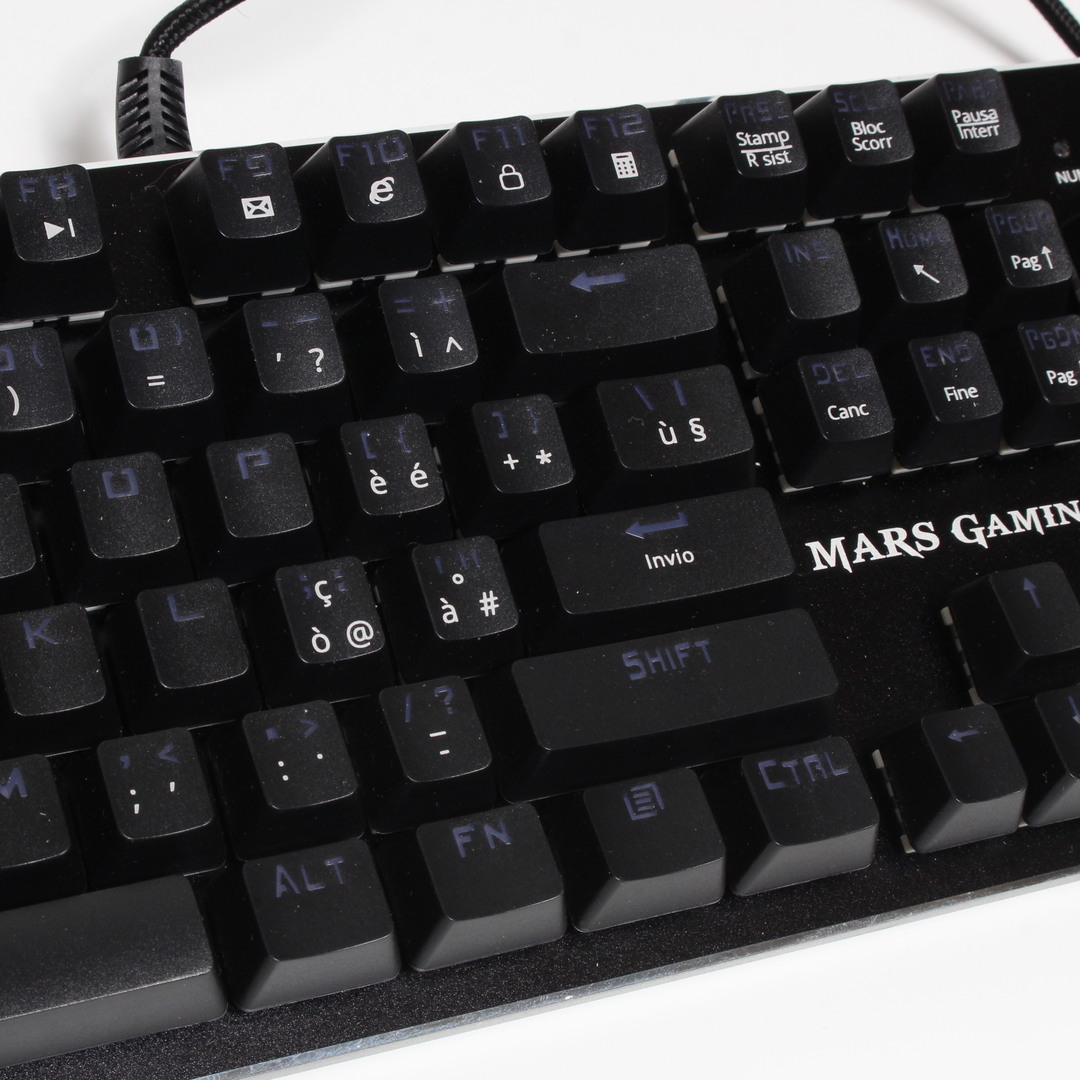 Podsvícená klávesnice Mars Gaming MK4