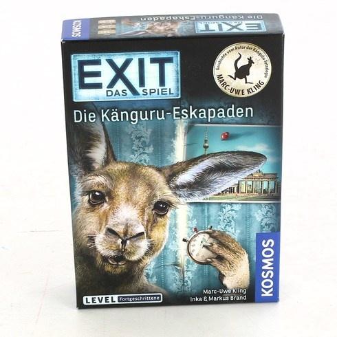 Společenská hra Kosmos EXIT Die Kanguru