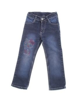 Dětské džíny Hello Kitty modré