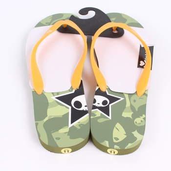 Pánské žabky Tokidoki maskáčové