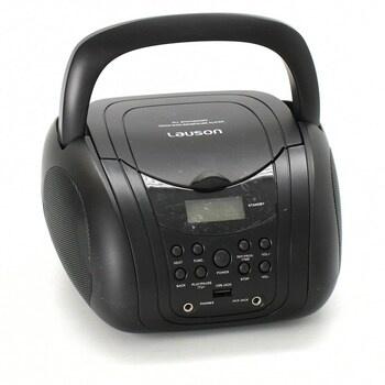 Přenosný CD přehrávač Lauson CP455