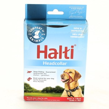 Postroj pro psa Halti COA13400RED