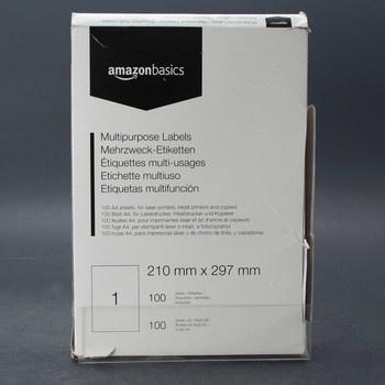Multifunkční etikety AmazonBasics