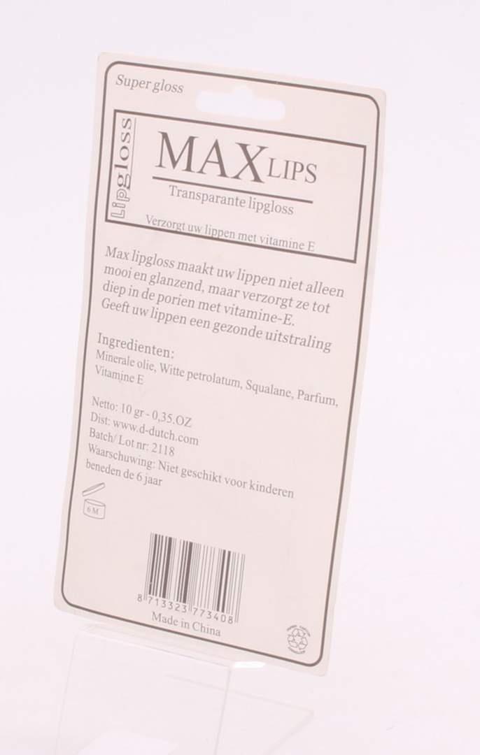 Lesky na rty Max Lipgloss 2 ks