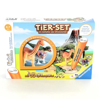 Naučná hra Ravensburger Tier Set Dinosauři