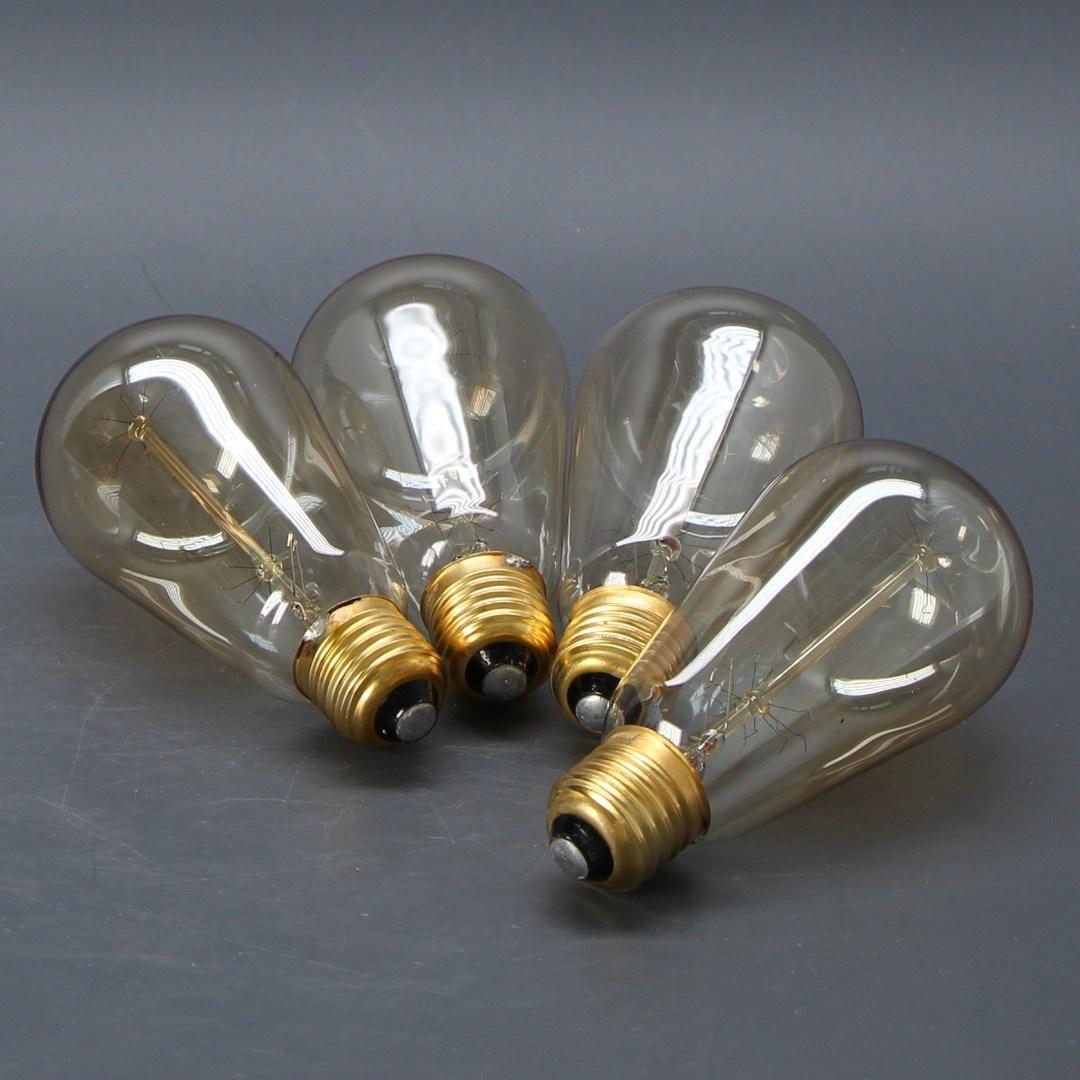 Sada žárovek Trounistro Vintage Edison 6ks