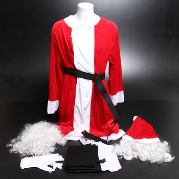 Kostým Santa Clause Foxxeo FO40432-XL