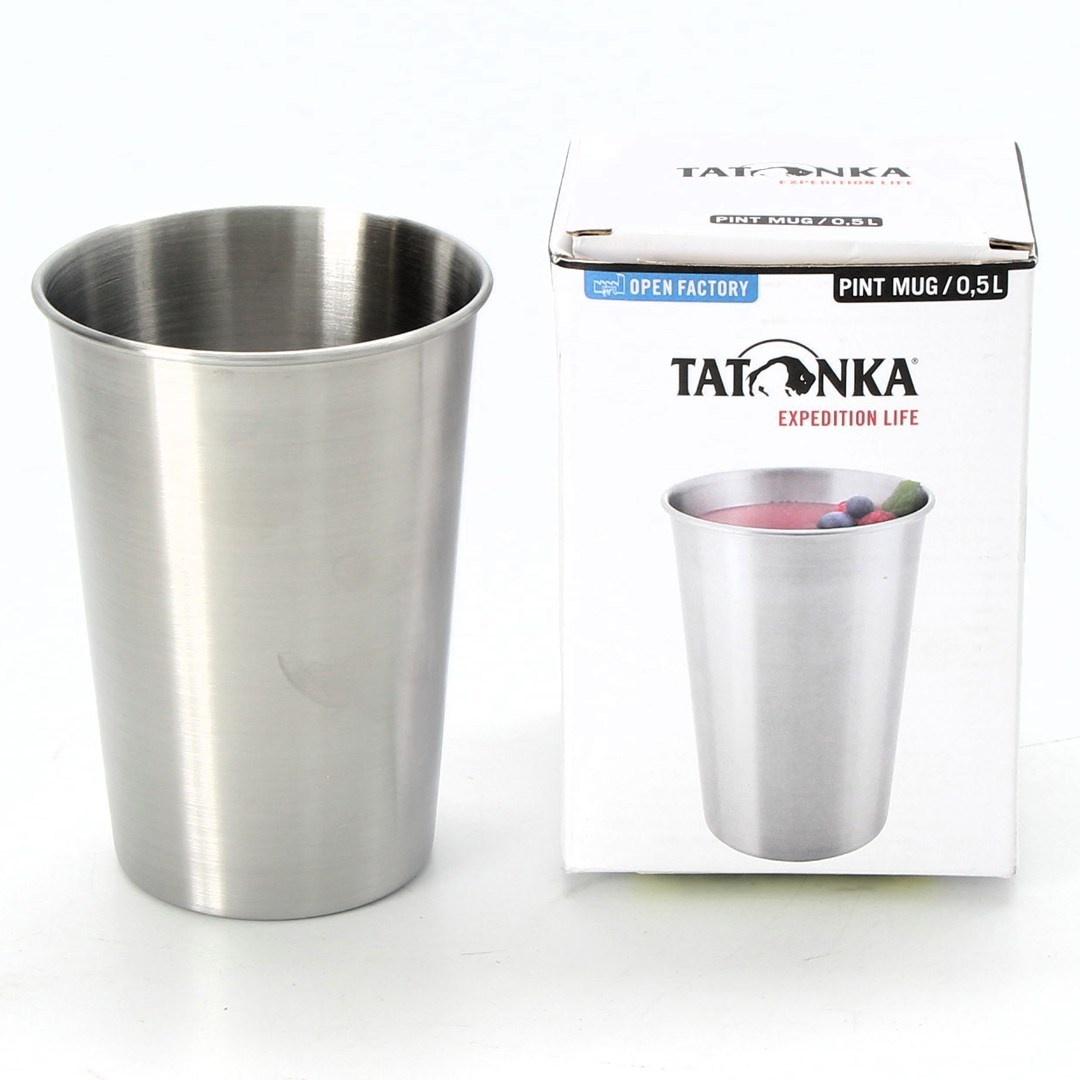Cestovní hrnek Tatonka 4078 nerezový 500 ml