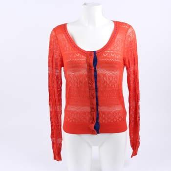 Dámský svetr Yes!Miss odstín oranžové 216fe2f8a0