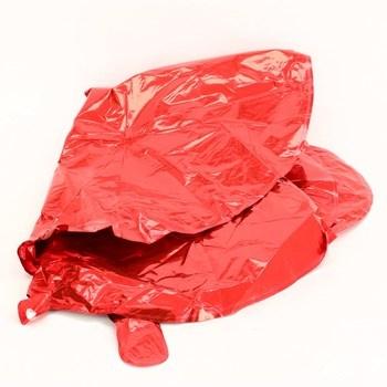Fóliový balonek Unique číslo 2 červený