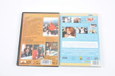 2 české filmy na DVD