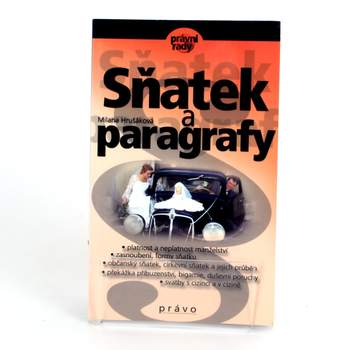 Kniha Sňatek a paragrafy Milana Hrušáková