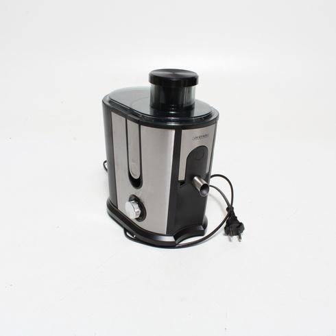Odšťavňovač Arendo černo stříbrný