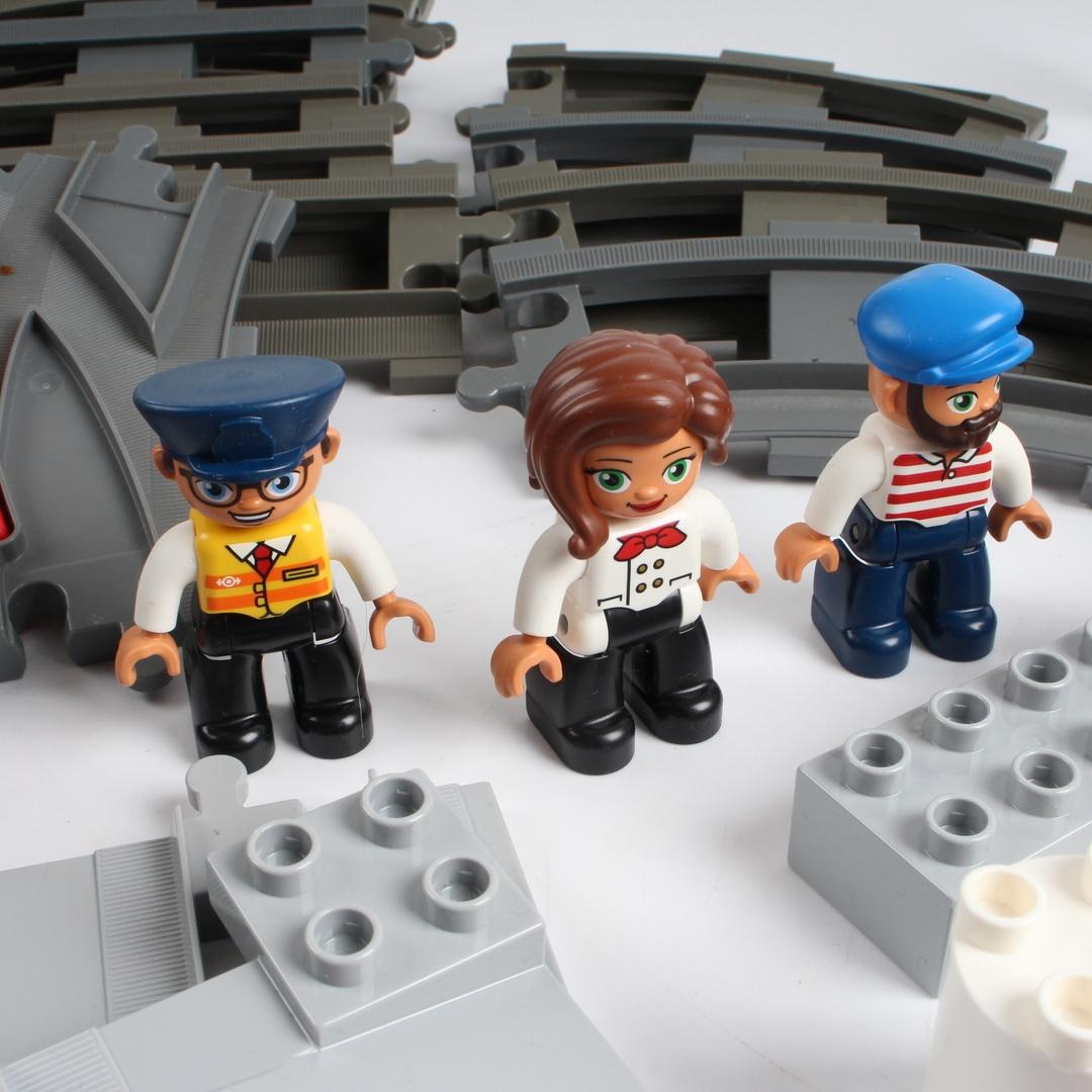Stavebnice Lego duplo 10875 nákladní vlak