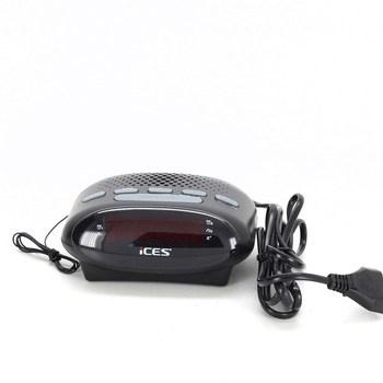 Radiobudík Ices ICR-210 černý