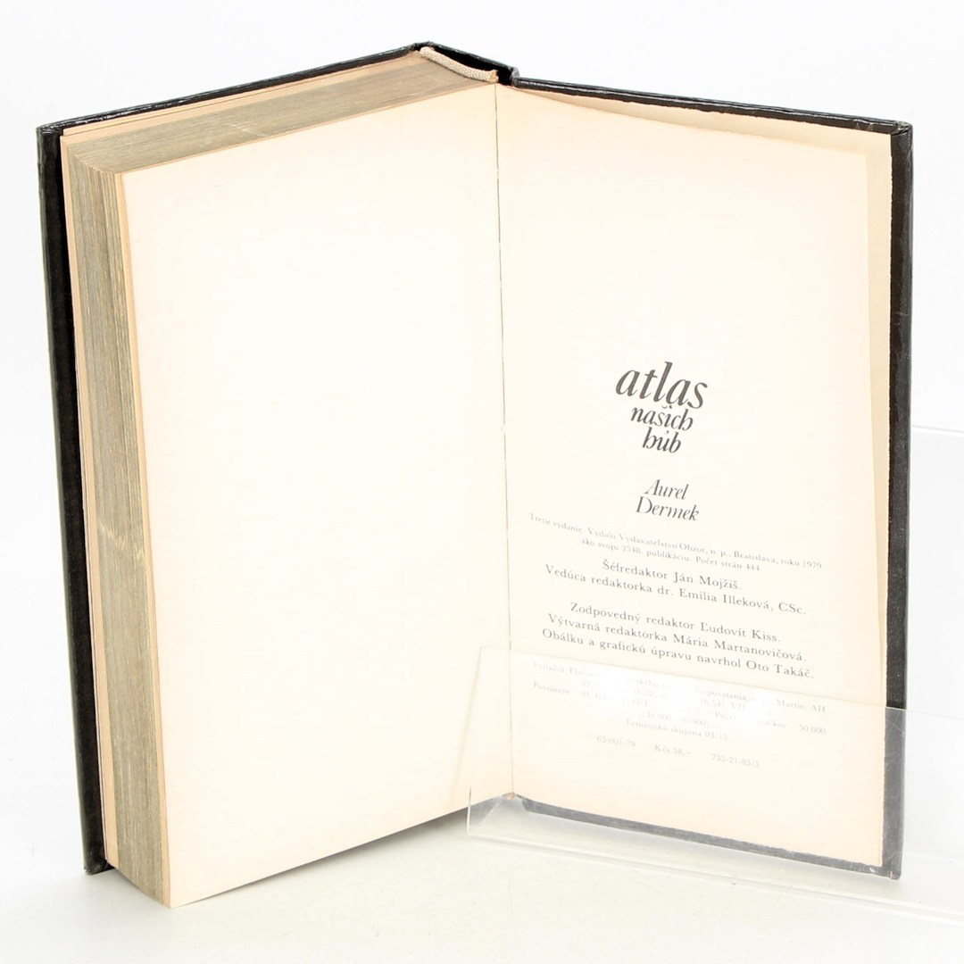 Kniha Atlas našich hub
