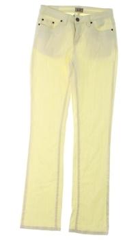 Dámské džíny AJC odstín žluté