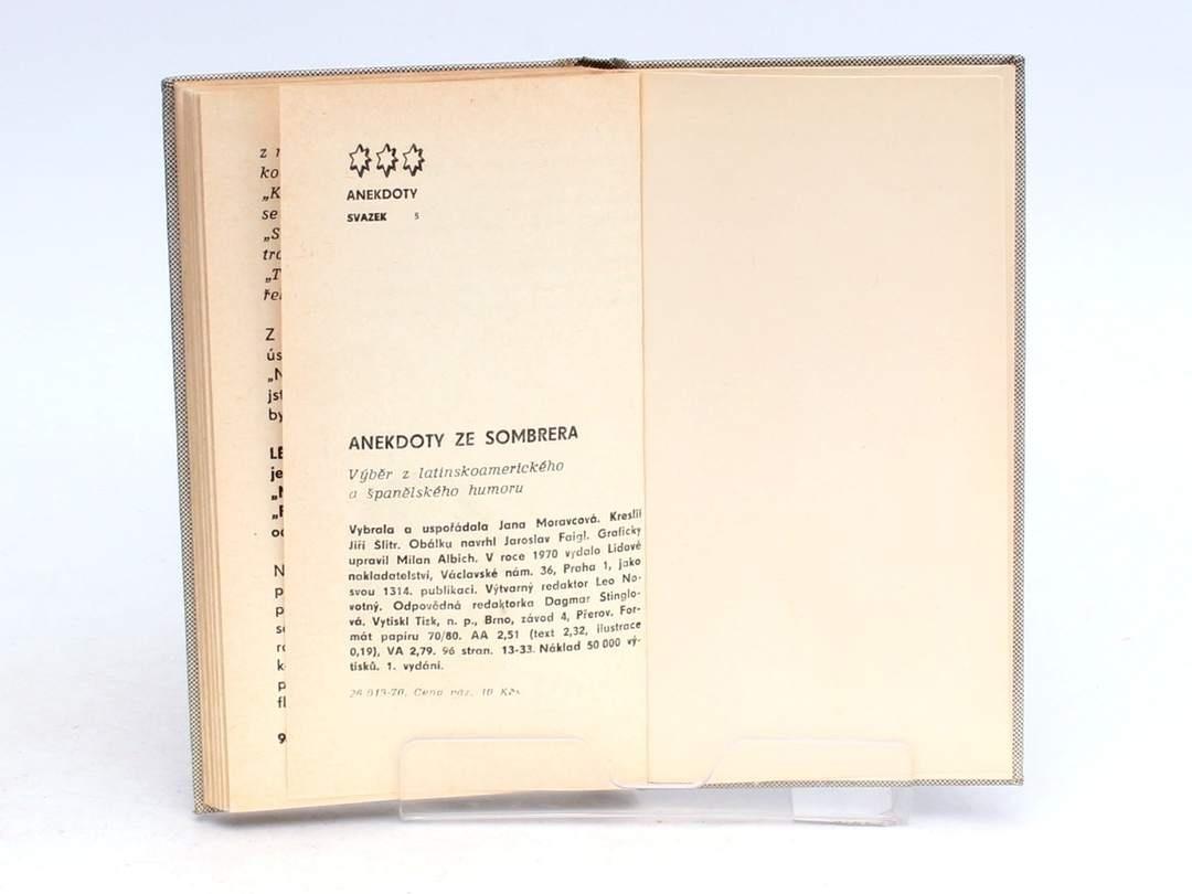 Anekdoty ze sombrera Jana Moravcová