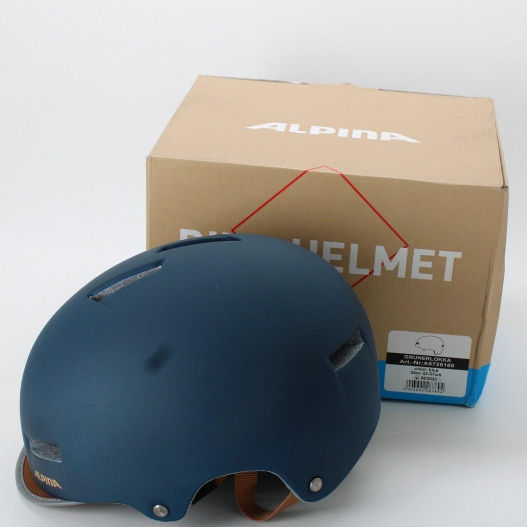 Cyklistická helma Alpina GRUNERLOKKA 52-57
