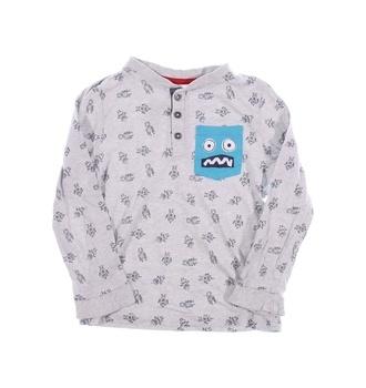 Dětský pyžamový kabátek F&F s modrou kapsou