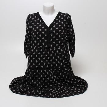 Dámské volnočasové šaty černé s.Oliver