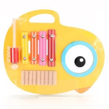Dětský xylofon JUMBO  dřevěný D53132