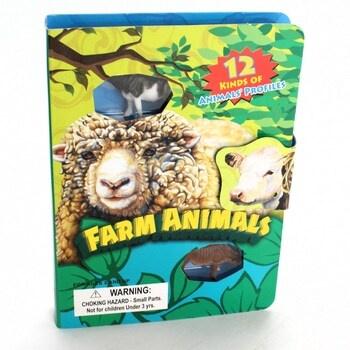 Dětská knížka se zvířátky Farma