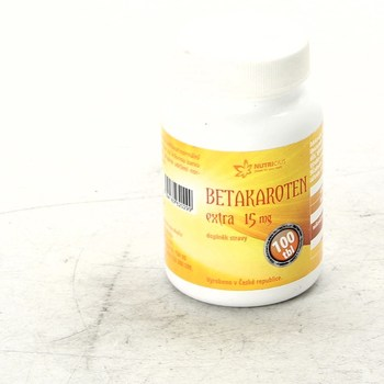 Doplněk stravy Nutricius Betakaroten extra