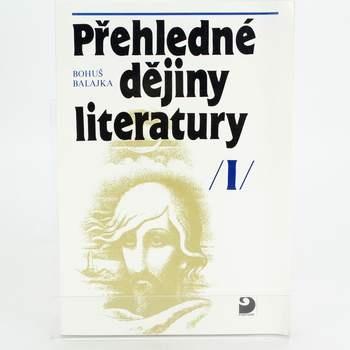 Kniha Přehledné dějiny literatury I.