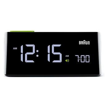 Budík Braun Alarm Clock BNC016 černý