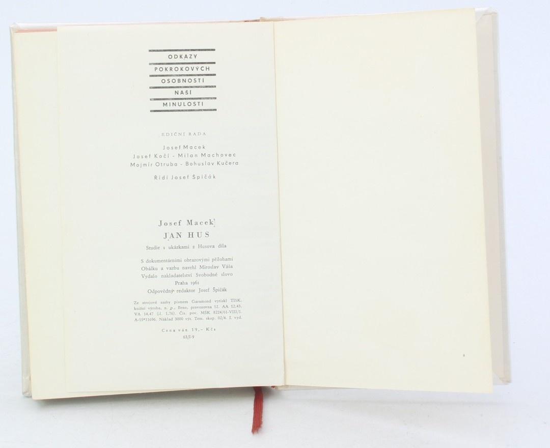 Kniha J. Macek: Jan Hus Odkazy