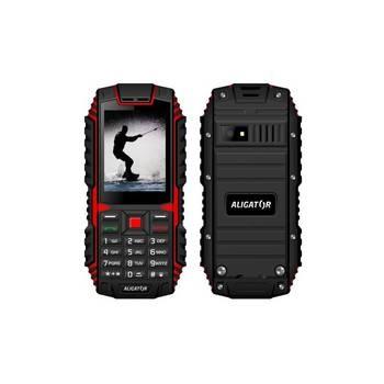 Mobilní telefon Aligator R12 černý/červený